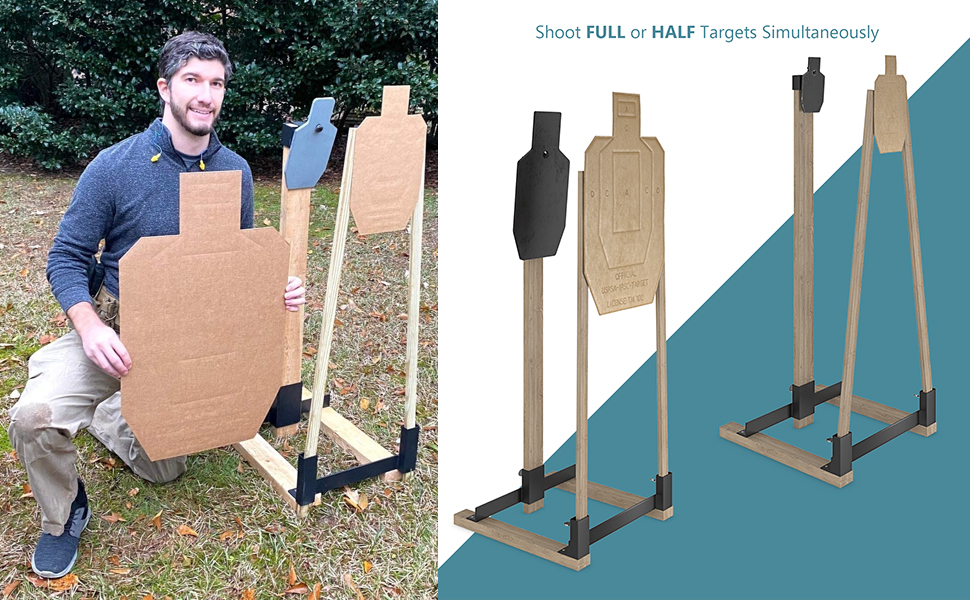 dueling mtm boxes hostage game torso case silhouette up kit hanger archery chronograph