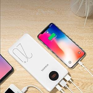 3 usb portable charger