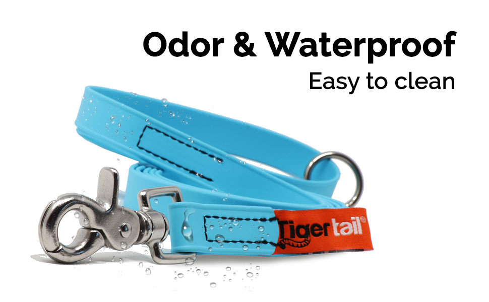 Tiger Tail Dog Leash Collar