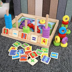 đếm và phân loại đồ chơi