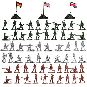 Elite Action Figures Plastic Soldier