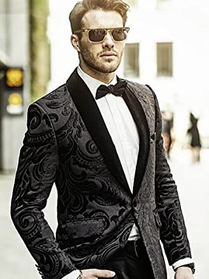 beige black paisley blazer floral paisley print coat Tapestry blazer tan and black blazer paisley pattern jacket notched lapel blazer