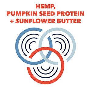 Hemp, Pumpkin Seen & Sunflower