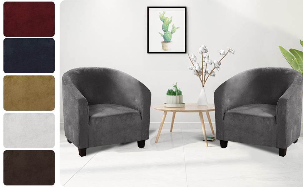 club chair slipcover tub chair covers velvet