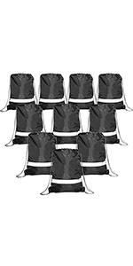black basketball backpack