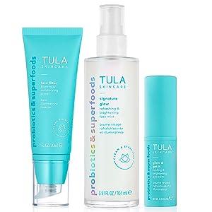 tula probiotic skincare no makeup skincare kit