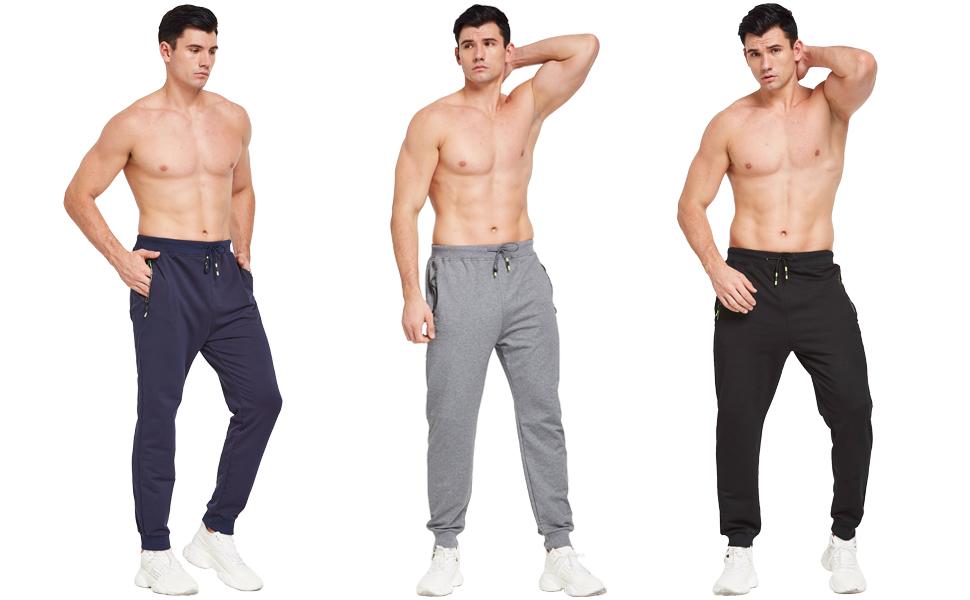 mens joggers bottoms grey