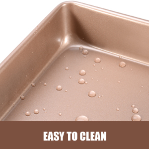 sheet pan for baking rimmed baking sheets nonstick rectangle bakeware pans deep cookie sheets