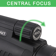 Adjust the eyepiece to use