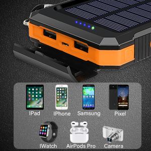 solar charger power bank portable solar power bank