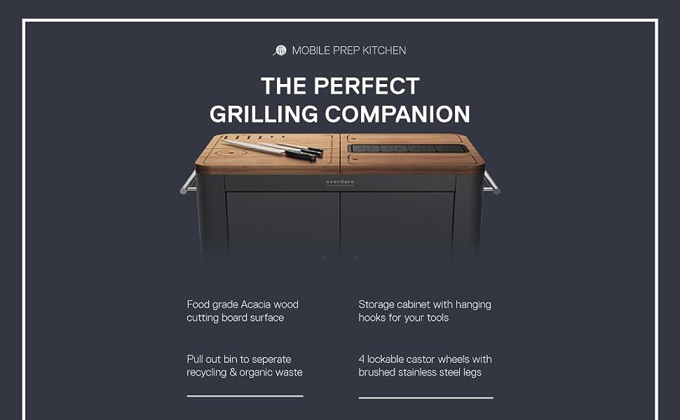 Mobile Prep Kitchen