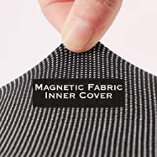 magnetic fabric inner cover