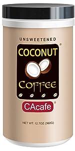 coconut coffee unsweetened