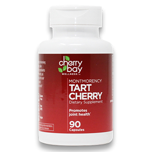 cherry bay wellness tart cherry dietary supplement promotes joint health fights inflammation