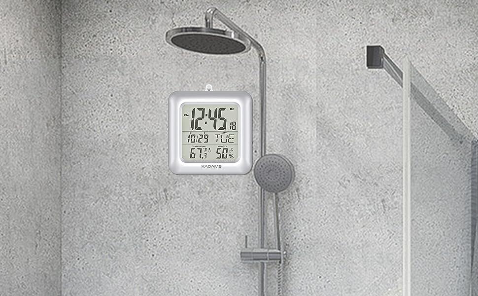 BATHROOM SHOWER CLOCK
