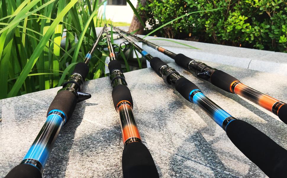 freshwater fishing rod