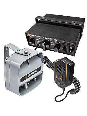 SoundAlert Emergency Siren Amplifier Kit