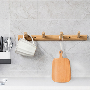 wood rack kitchen