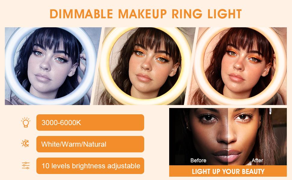 make up ring ligth