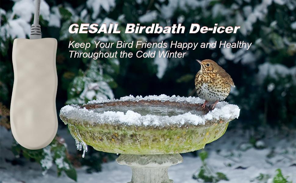 birdbath heater