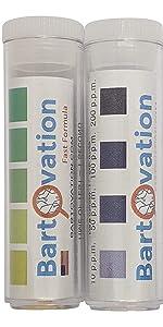 chlorine and quat qac test strips bundle kit three part sinks