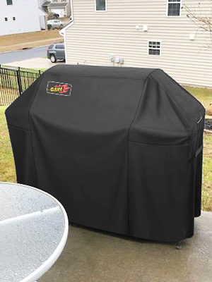Amazon Com Victsing Usaa1 Vtgecp057ab Vd Waterproof Bbq 600d Heavy Duty Gas Grill Cover For Weber Brinkmann Char Broil Holland And Jenn Air Uv Dust Water Weather Rip Resistant 64 Inches Black