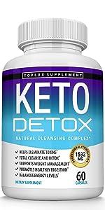 Keto Detox supplement toplux