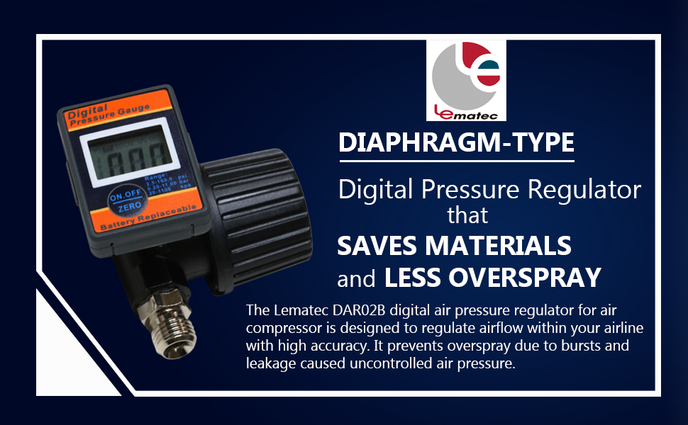 Control and Maintain Quality Airflow with DAR02B Digital Pressure Gauge