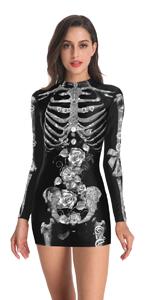 white skeleton