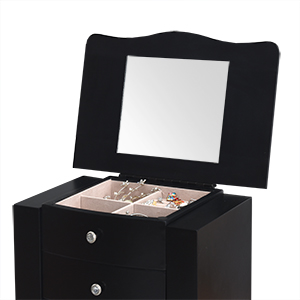 Top Lid with a Mirror for Makeup