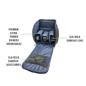 dslr bag waterproof dslr bag with laptop amazon choice