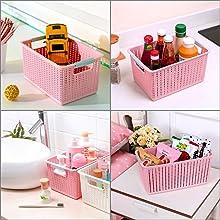 Versatile Plastic Basket
