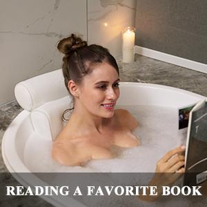 bubble bath time spa bathtub pillows for tub