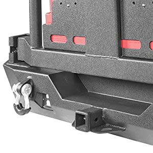 Built-in receiver hitches for 2007 - 2018 Jeep wrangler JK JKU