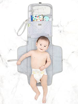 Marys Baby Travel Changing Mat Folding Portable Diaper Waterproof Home Away Storage