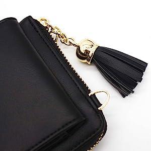 tassels wallet for women