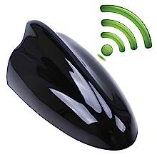 Possbay Universal Shark Fin Car Antenna AM/FM Radio Signal