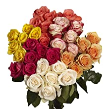 wholesale roses, assorted flowers, natural flowers