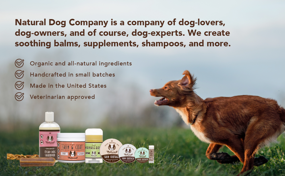 natural dog company healing balms for dogs