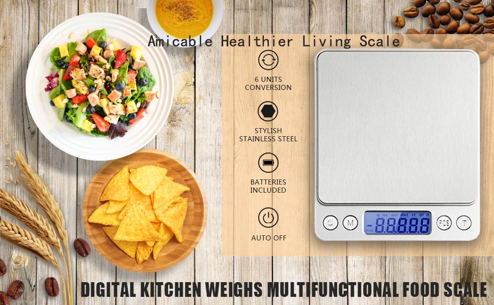 Accurate & High Precision  Digital Scales