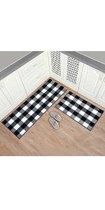 kitchen bathroom throw rug set