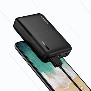 Aibocn Portable Charger, 10000mAh Power Bank, Ultra-Mini External Battery Pack for iPhone, iPad, Samsung Galaxy, and More