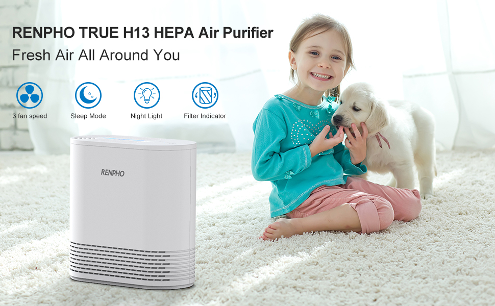 hepa air purifier for kids room