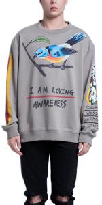 I Am Loving Awareness Hip Hop Sweatshirt