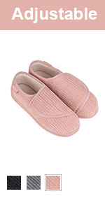 womens faux fur collar slippers
