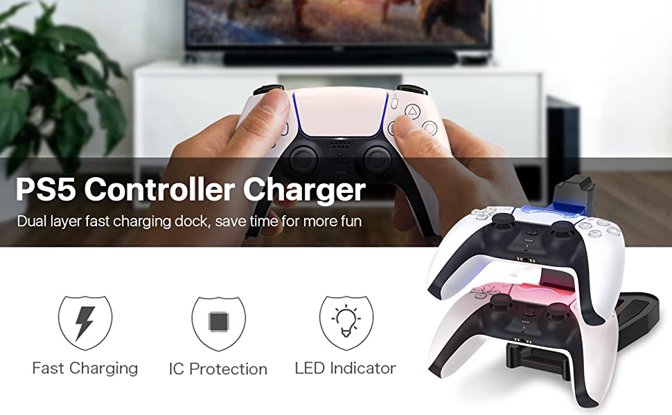 station usb charging station usb fast charger game controller usb charging dual usb charger