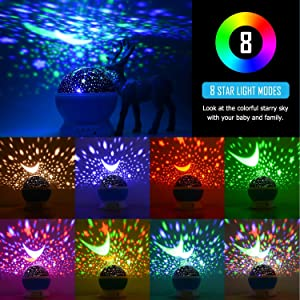 Colorful romantic Gift Cosmos sky indoor Specialty Lighting New Amazing LED best gift Usb night lamp