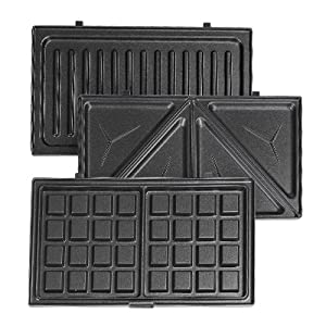 detachable waffle maker with removable plates