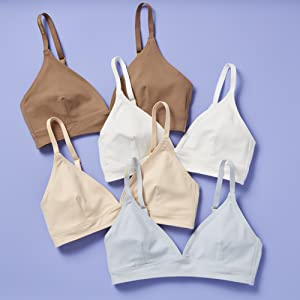 Best First Training Bra Made in the USA Girls Tweens Teens Quality Most Comfortable Cotton Active