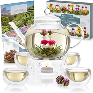 Flowering Tea Display